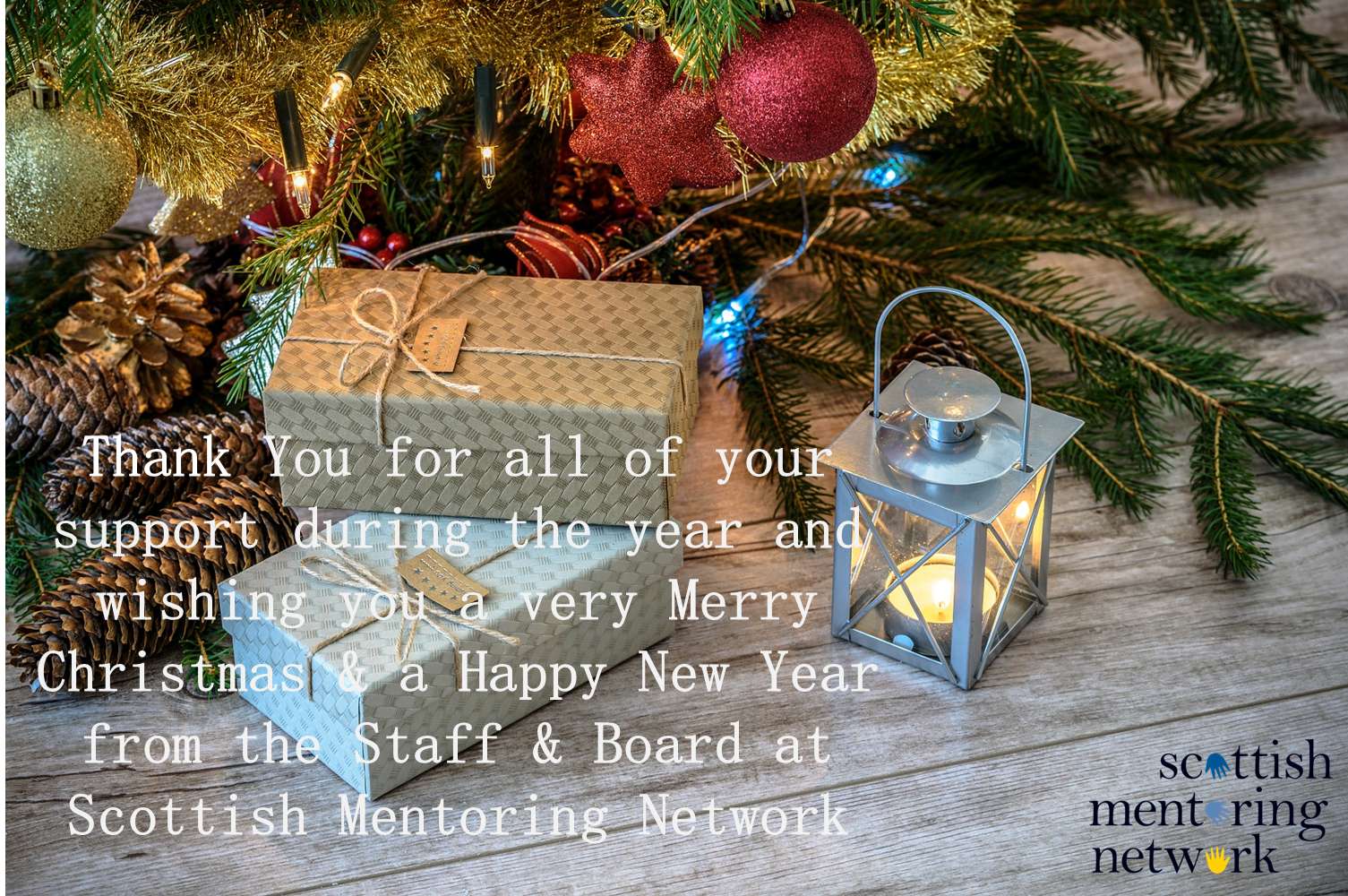 SMN: Season's Greetings from Scottish Mentoring Network