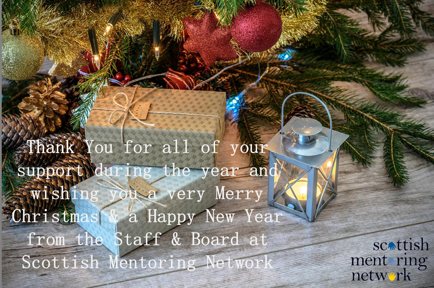 SMN: Season's Greetings from Scottish Mentoring Network