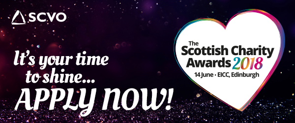 Scottish Charity Awards 2017 - Now Open for Applications