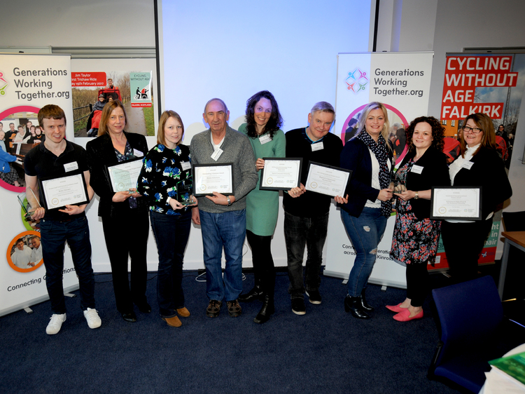 Generations Working Together National Conference and Recognition Awards 2018