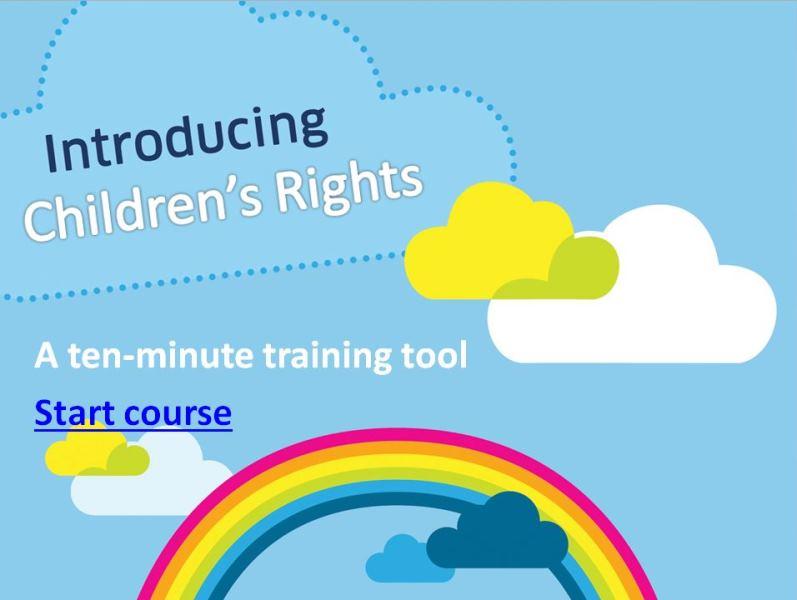 Update: UNCRC training toolkit