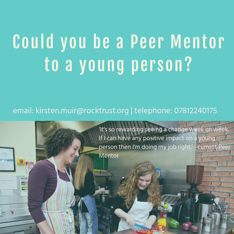MEMBER NEWS: Rock Trust Peer Mentors Required in West Lothian