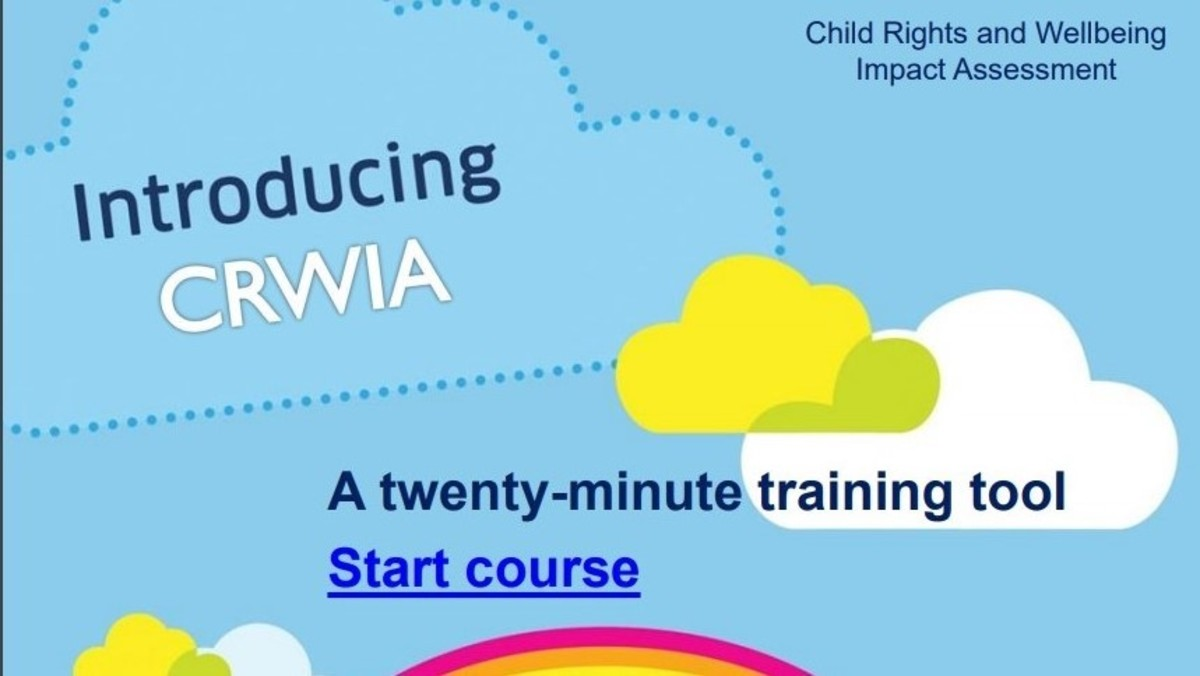 Child Rights and Wellbeing Impact Assessment, training toolkit