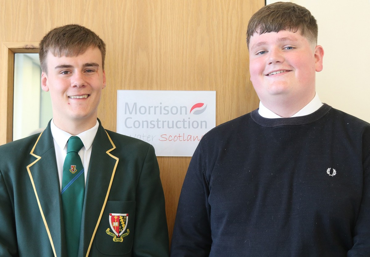 NEWS: Senior students mentored by Morrison Construction to be 'career ready'