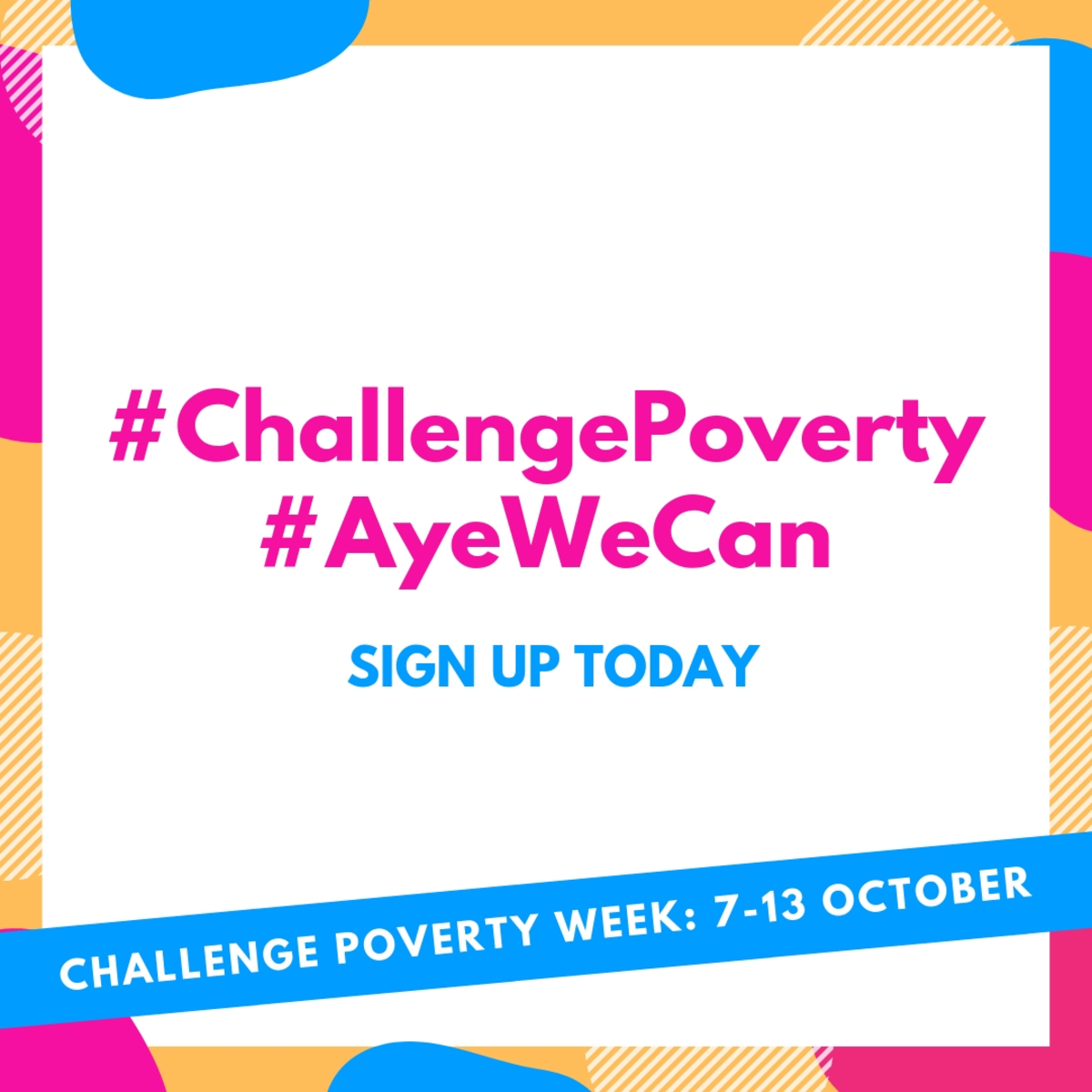 BLOG POST: Challenge Poverty Week