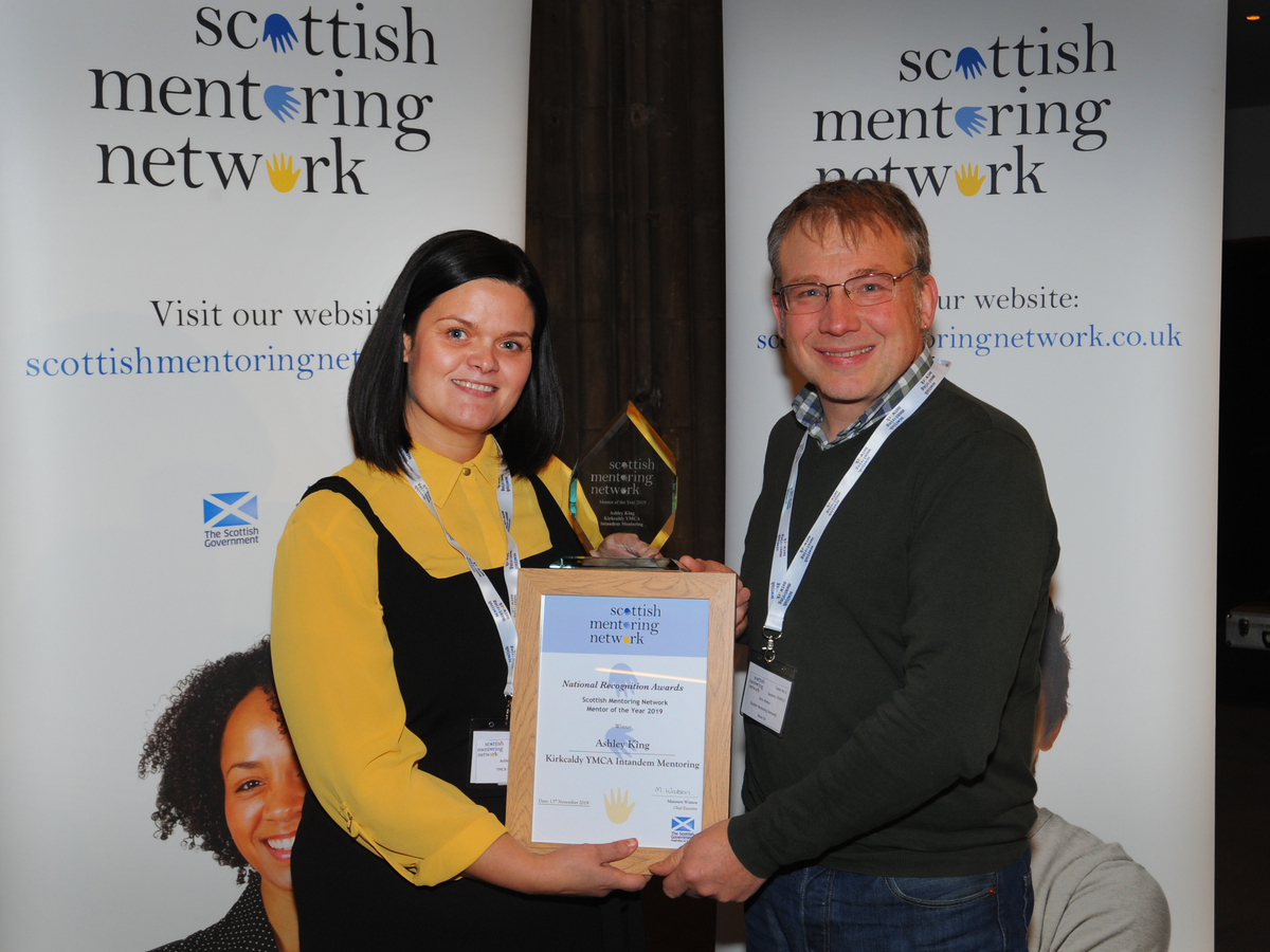 MEMBER NEWS: Ashley King is Mentor of the Year and has been showcased in local media!