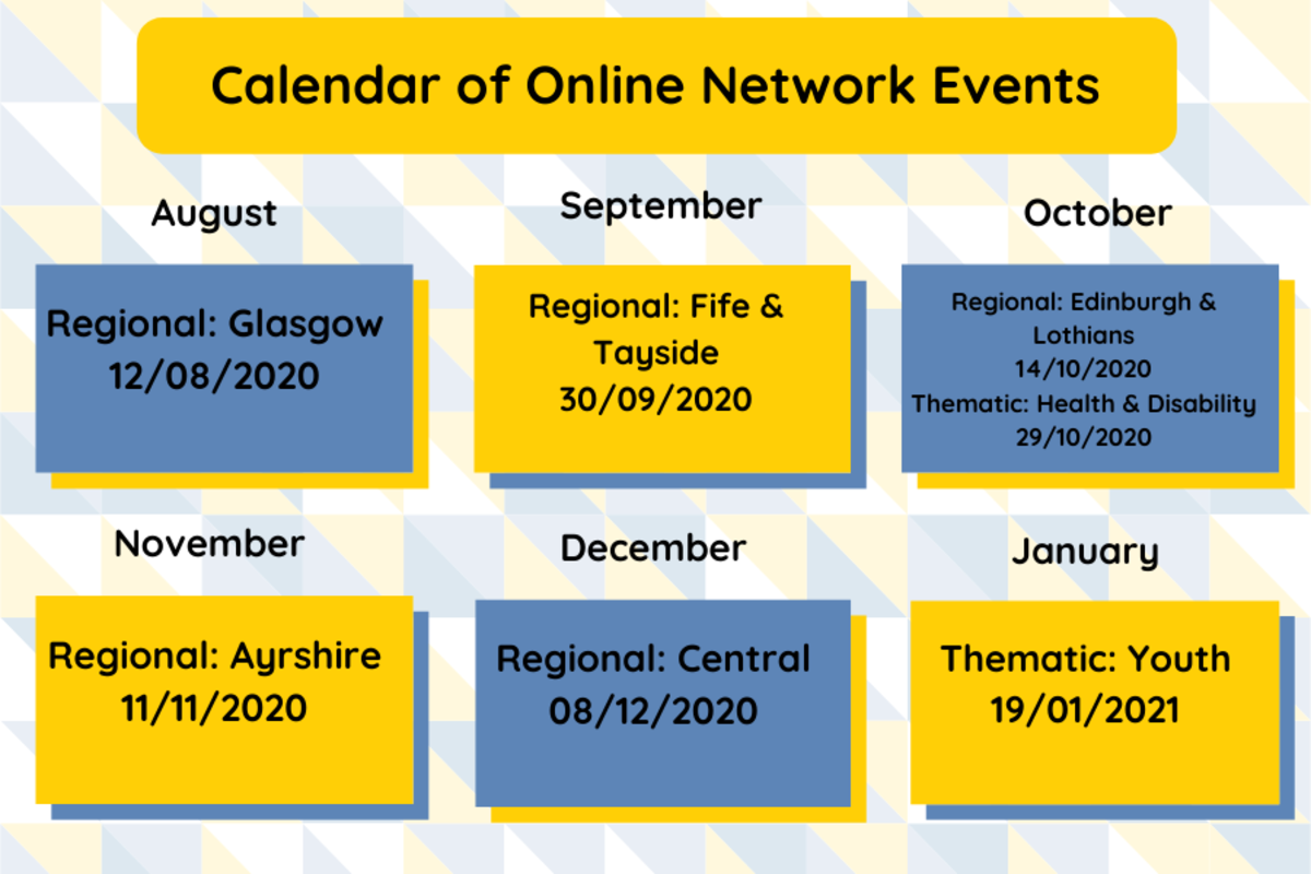 NEWS: We have published the upcoming online Networking Events dates!