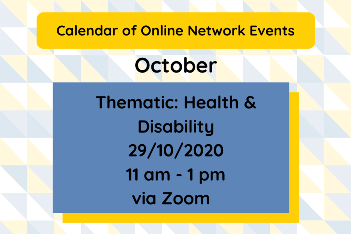 SMN: Health & Disability Network Event