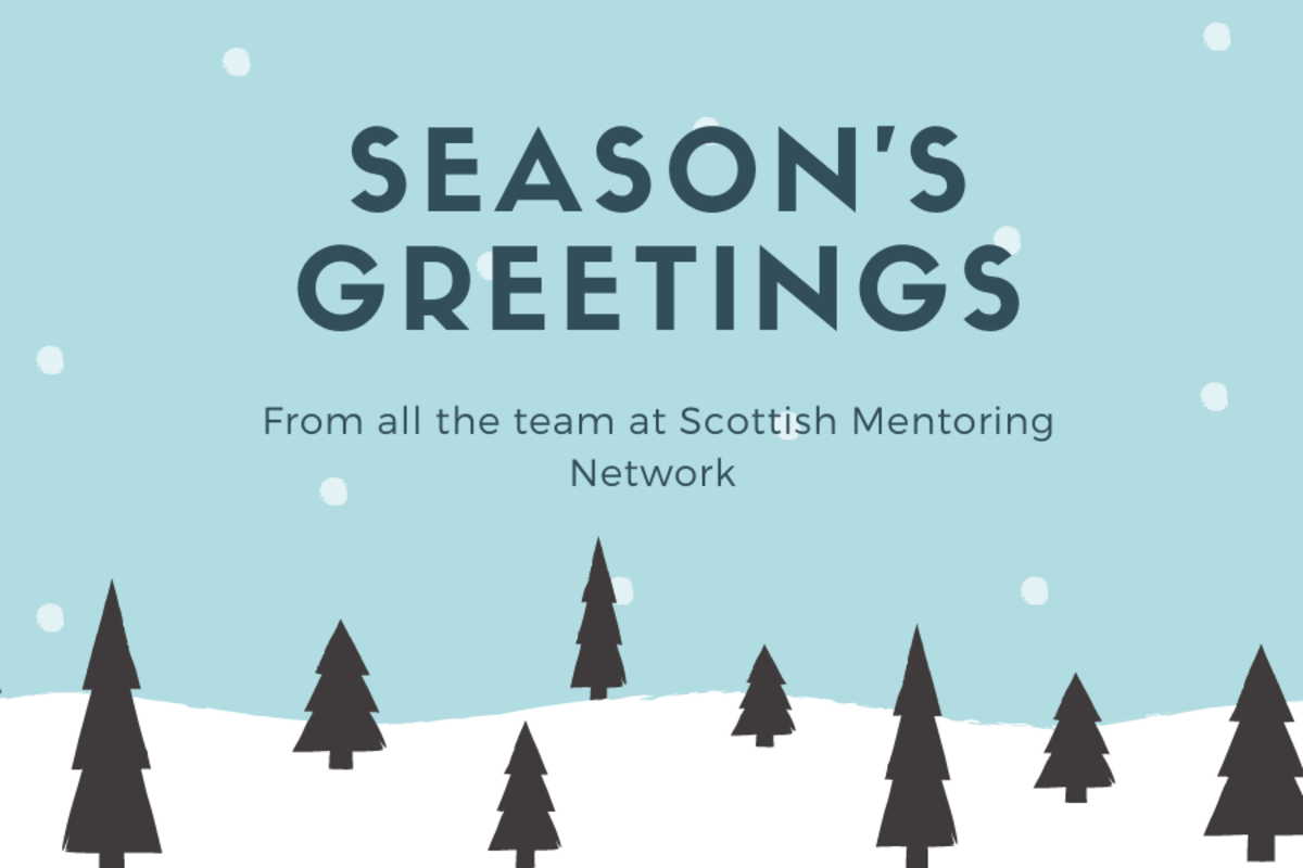 SMN: Season's Greetings from all the team at Scottish Mentoring Network