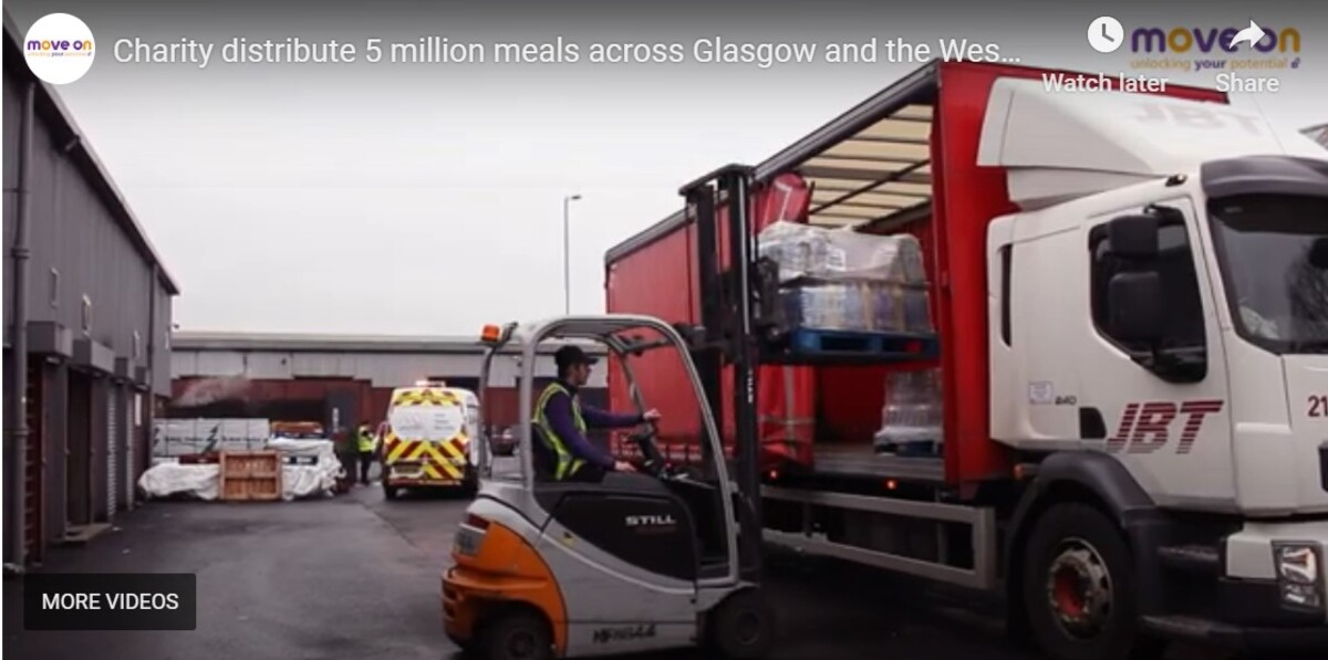 MEMBER NEWS: Move On's FareShare Glasgow and the West of Scotland has distributed more than 5 million meals