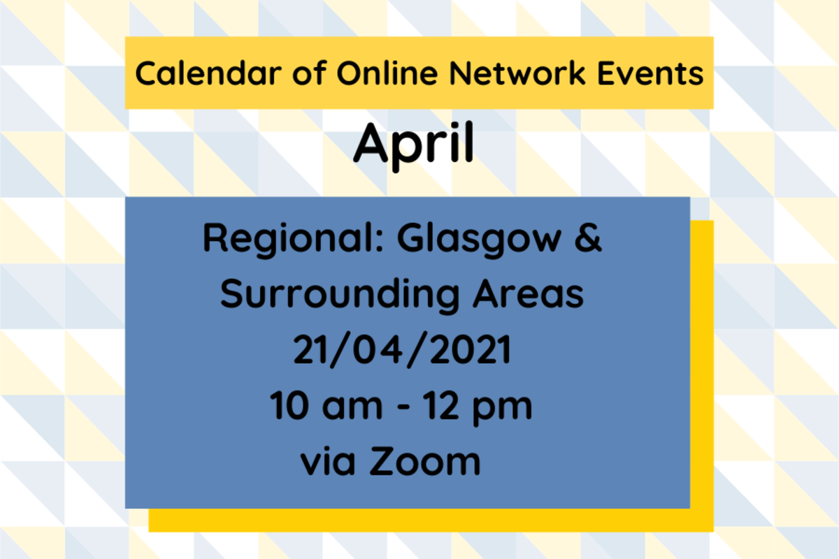 SMN: Glasgow & Surrounding Areas Network Event