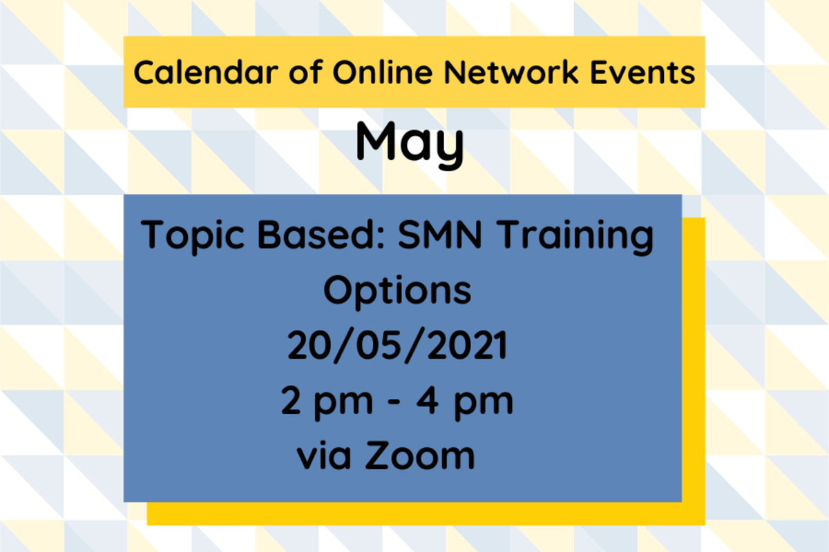 SMN: Topic Based Event - Overview of SMN Training Options